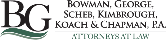 Bowman, George, Scheb, Kimbrough, Koach & Chapman, P.A. – Attorneys at Law